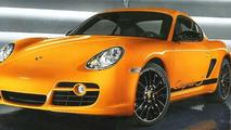 Porsche Cayman S Sport Official Photo (UK)