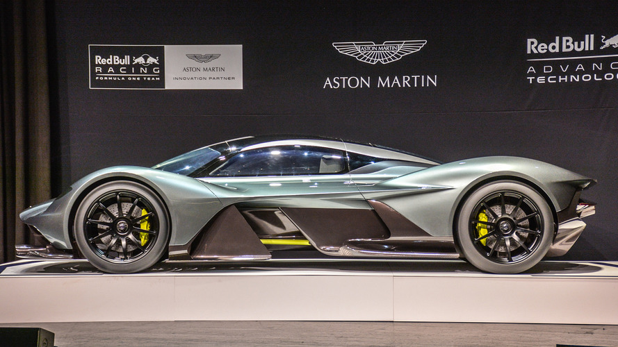 Aston Martin AM-RB 001 hybrid in Toronto