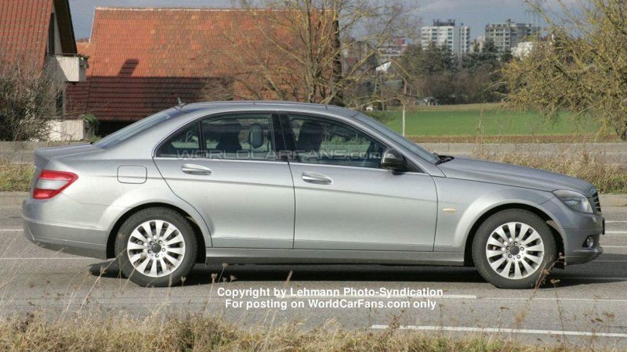 Mercedes C Class Sedan spy