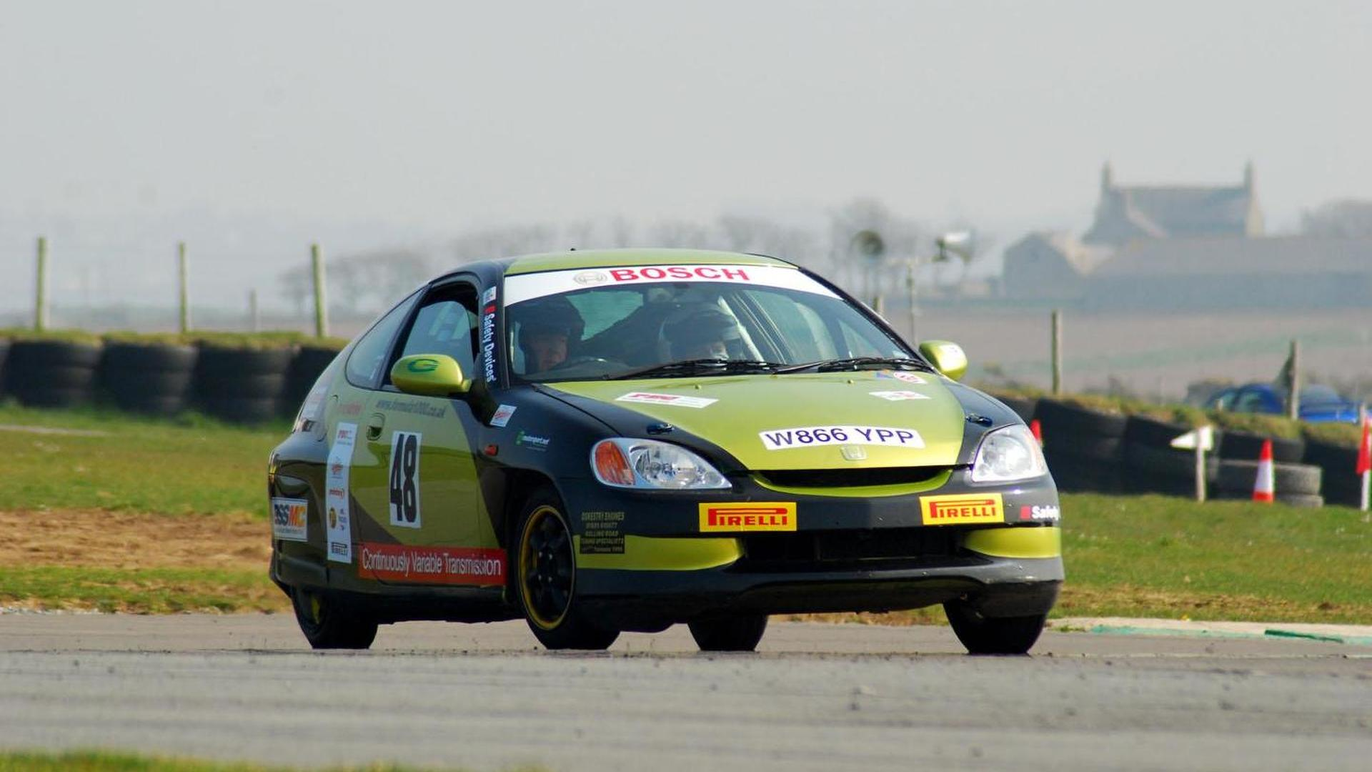 Hybrid rally car banned for being too fast