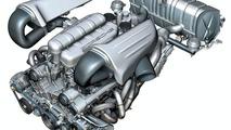 Carrera GT engine graphic