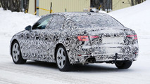 Audi A4 latest spy shots reveal headlight and taillight design