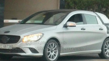 Mercedes-Benz CLA Shooting Brake spy photo
