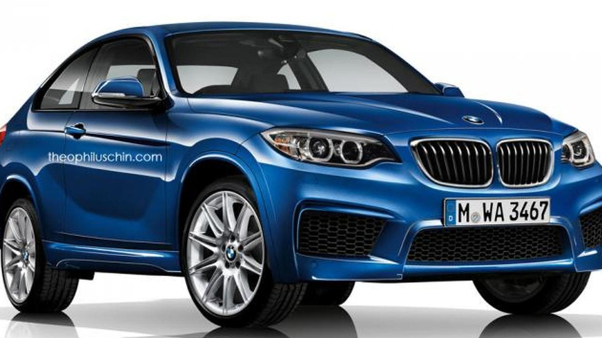 2017 bmw x2 sports activity coupe rendered. Black Bedroom Furniture Sets. Home Design Ideas