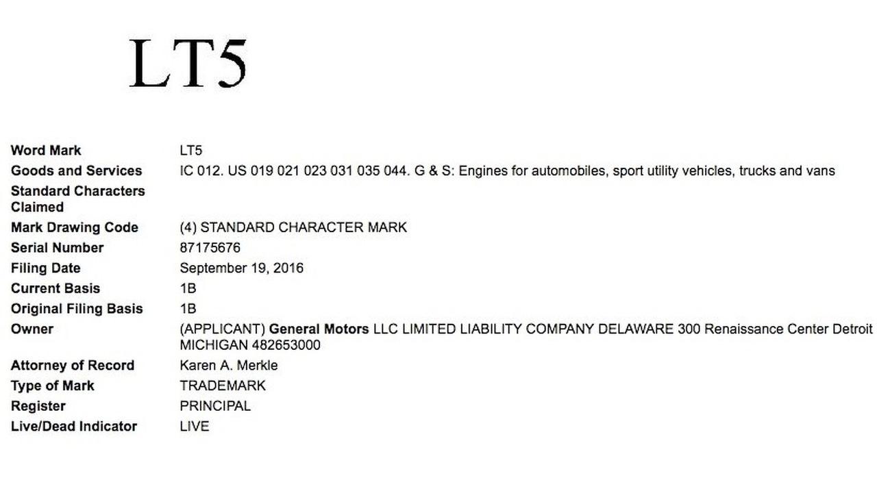 General Motors files for