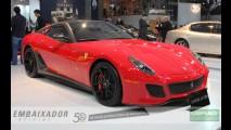 Para babar: Ferrari 599 GTO é um dos destaques no Salão do Automóvel