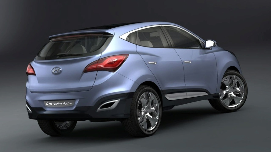Hyundai HED-6 ix-ONIC Concept Revealed Ahead of Geneva Debut