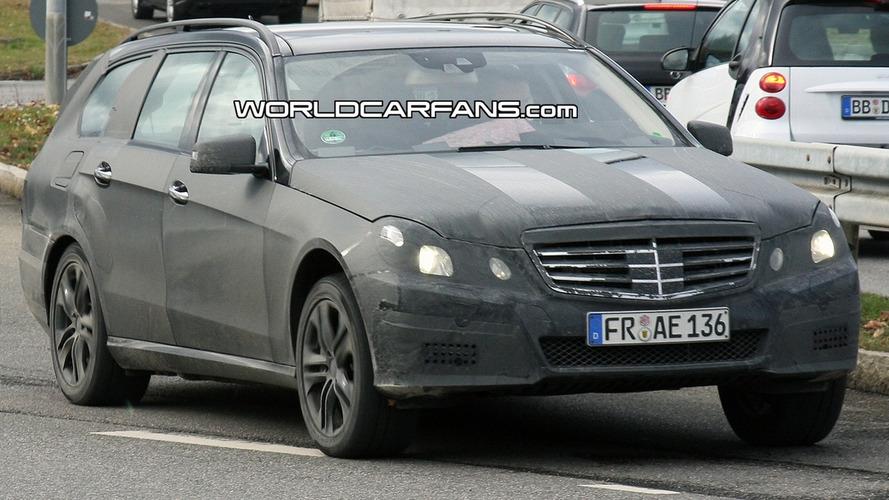 Mercedes E-Class Estate/ Wagon Spied