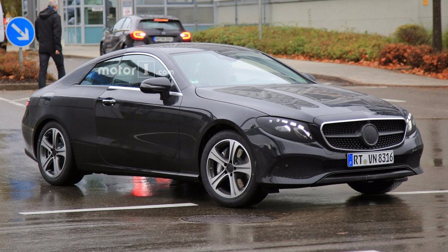 New Mercedes E-Class Coupe, Cabriolet form stylish dynamic duo