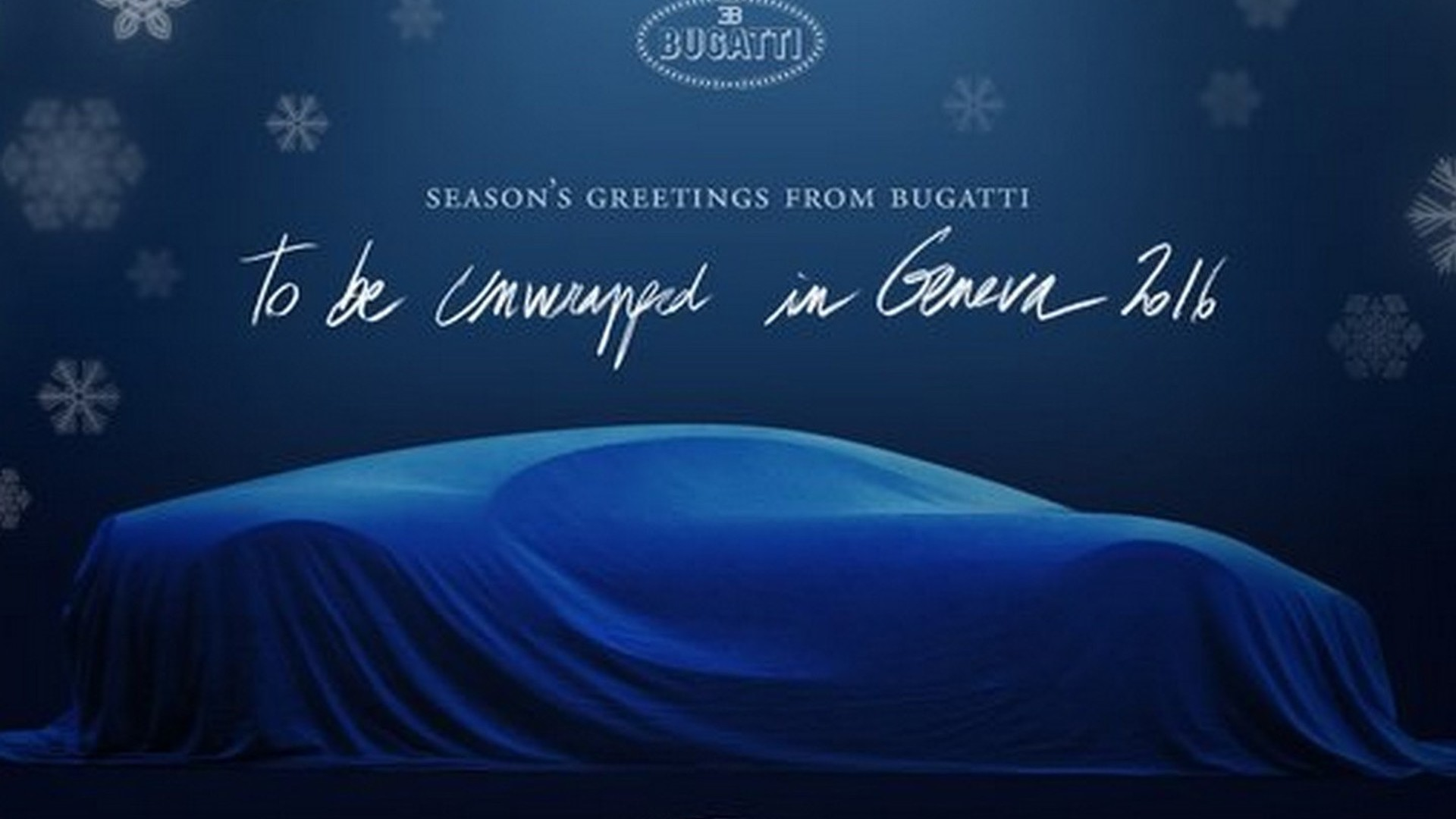 Bugatti Chiron believed to have 290 mph / 467 kph top speed