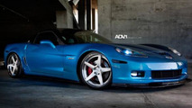 Chevrolet Corvette with ADV.1 wheels, 1024, 23.12.2011