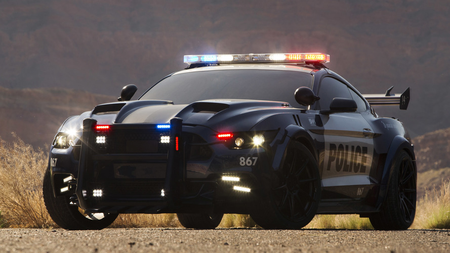 Barricade is a mean, pursuit-ready Mustang for Transformers 5