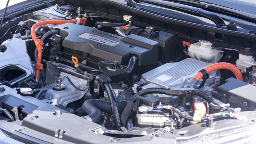 ... dual motor system based on the hybrid powertrain of the accord hybrid