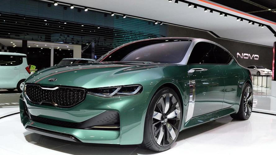 Kia Novo fastback concept debuts at Seoul Motor Show
