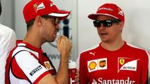 Raikkonen is on Vettel's pace - manager