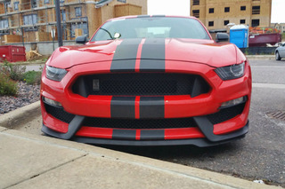 Prototype Shelby GT350 Spotted on the Town