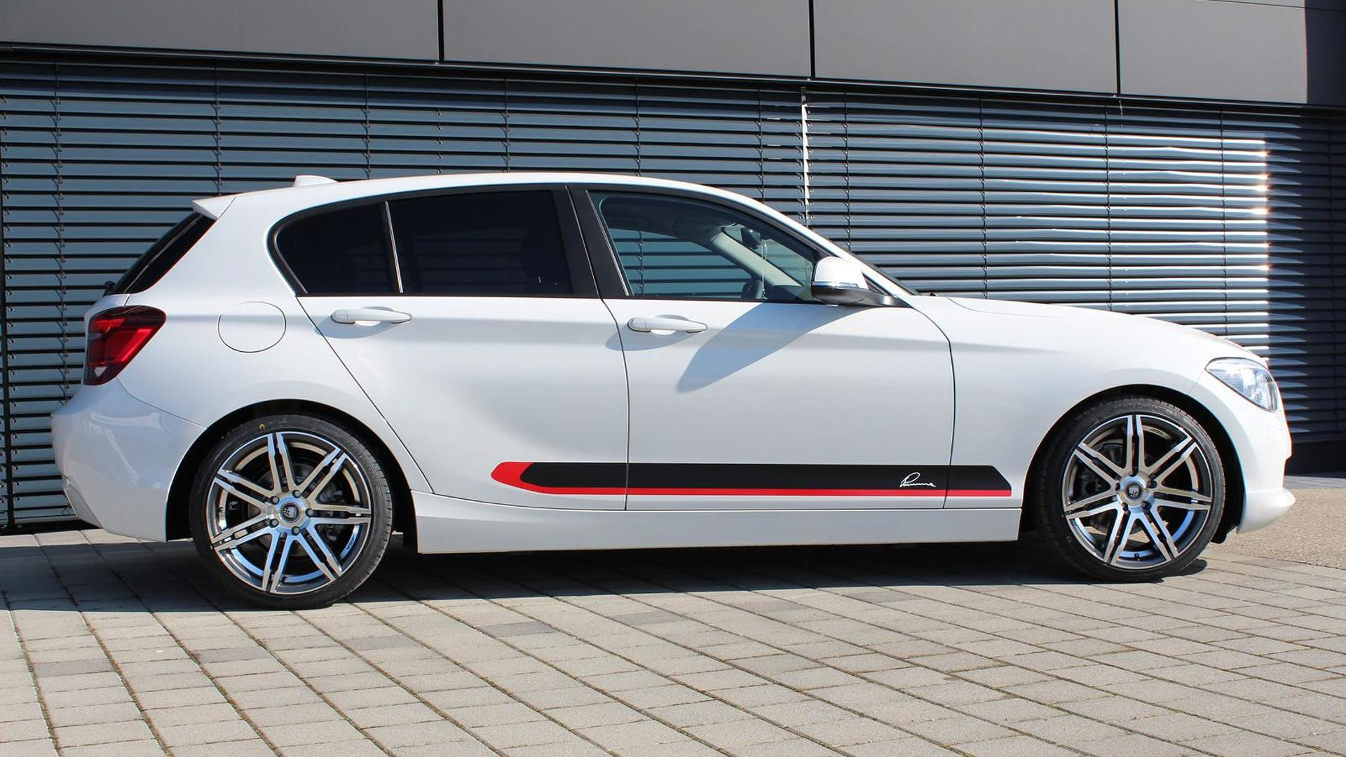 BMW 1-Series F20 modestly upgraded by Lumma Design