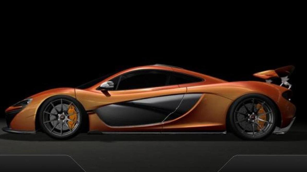 McLaren P1 digital dash screenshot, 782, 06.02.2013