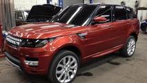 2014 Range Rover Sport caught undisguised