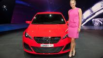 Peugeot 308 R concept debut in Frankfurt
