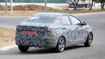 Possible Datsun sedan spy photo