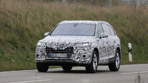 2016 Audi Q7 drops some camouflage in latest spy photos