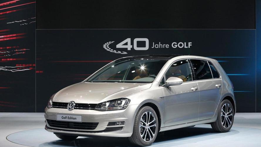 Volkswagen Golf Edition unveiled at AMI Leipzig