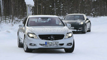 Mercedes S-Class Coupe facelift spy photos, 04.03.2010
