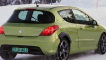 Peugeot 308 Sport or RC Z Coupe Mule Spy Photos?