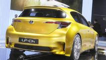 Lexus LF-Ch full hybrid concept World debut at 2009 Frankfurt Motor Show