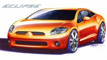 Mitsubishi Eclipse 2006 - front