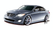 Hyundai and RKSport to Unveil High-Performance Genesis Sedan at SEMA