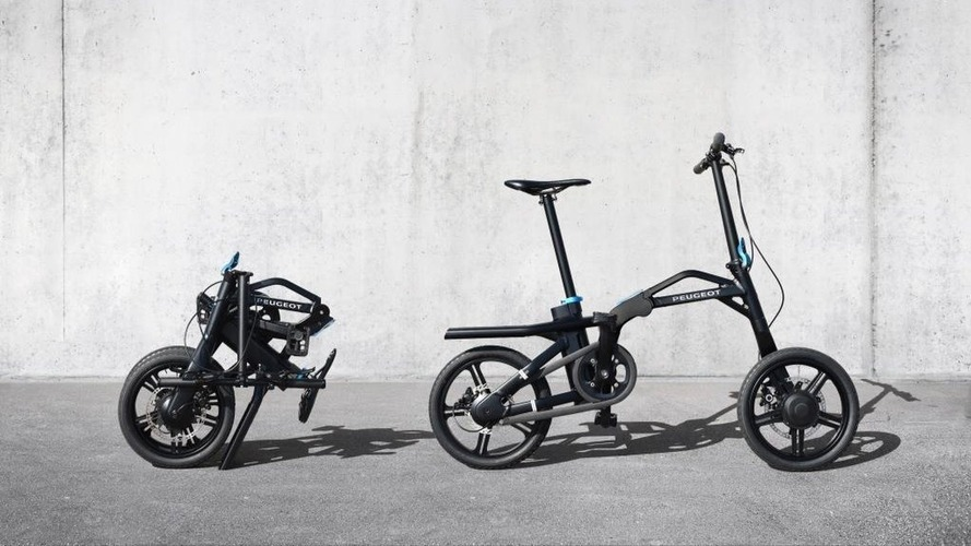 Peugeot eF01- Le vélo électrique et pliable est né