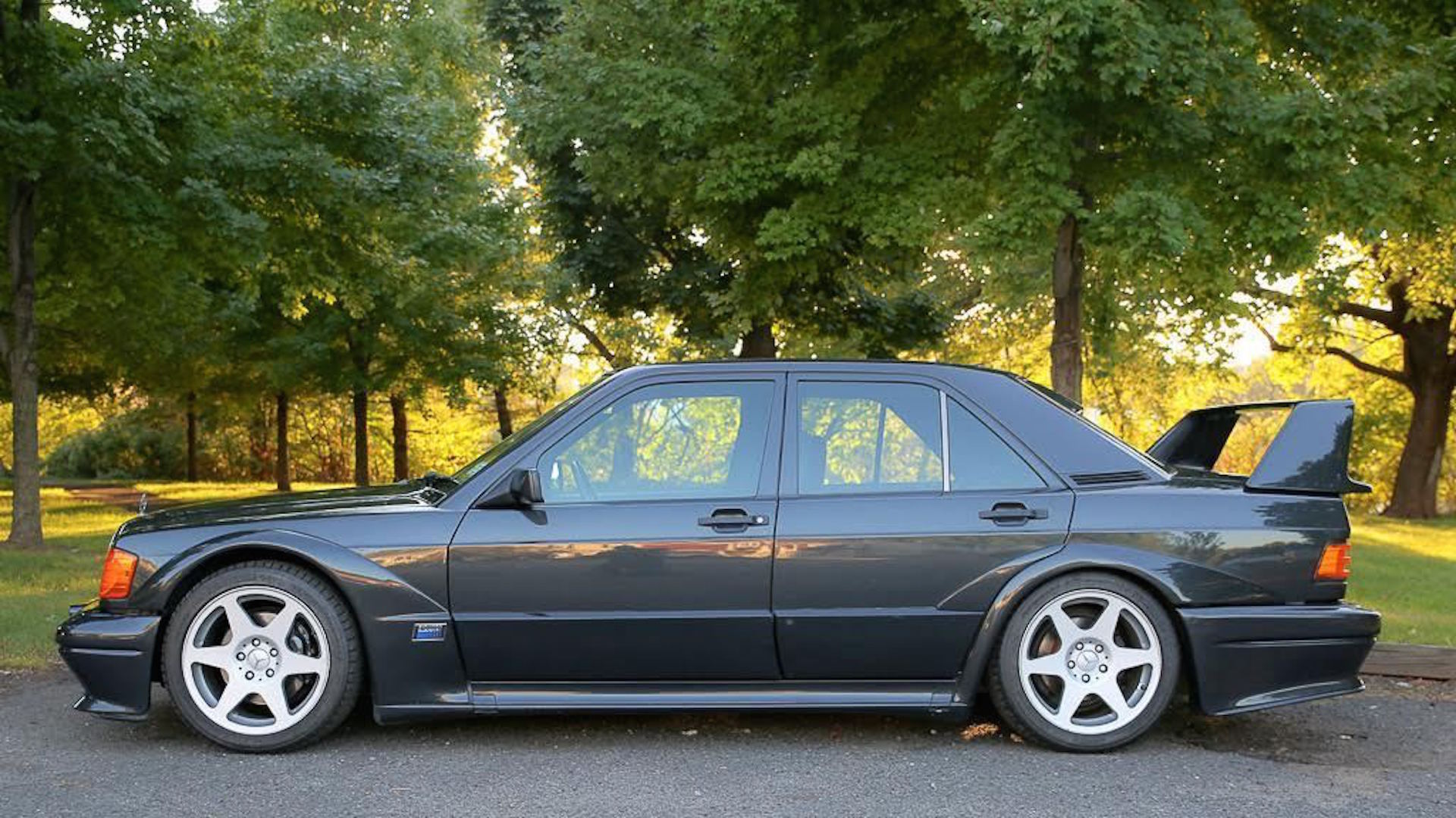 1990 Mercedes-Benz 190E Cosworth Evo II on eBay with 29,000 miles