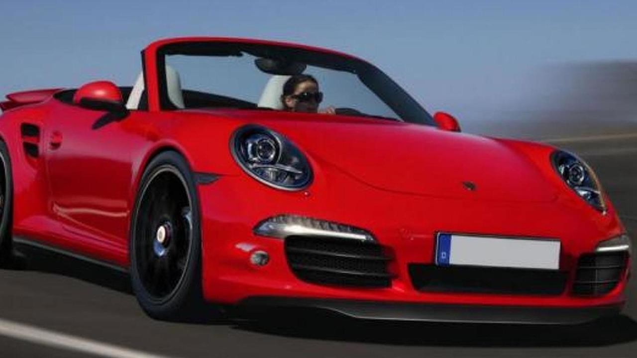 2013 Porsche 911(991) Turbo Cabrio speculative rendering, 1000, 23.05.2012
