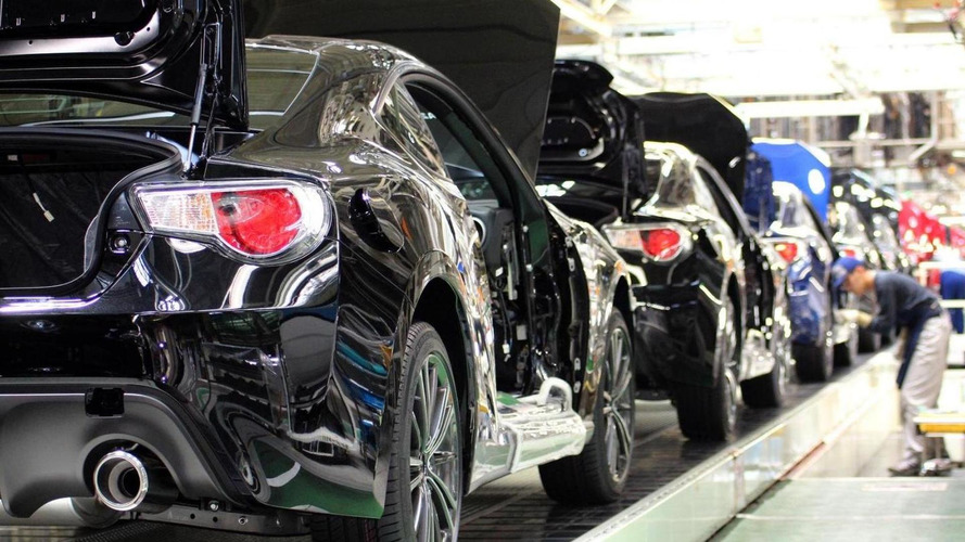 Subaru begins BRZ and GT86 production
