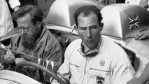 Moss & Jenkinson, Brescia, 1955 Mille Miglia
