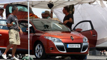 Renault Megane III Caught Uncovered During Video Shoot