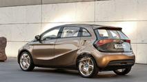 Mercedes-Benz Concept BlueZERO E-CELL PLUS electric car