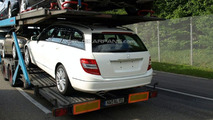 2010 Mercedes-Benz C-Class Facelift First Spy Photos