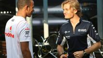 Hamilton, Rosberg, disagree over Piquet escape