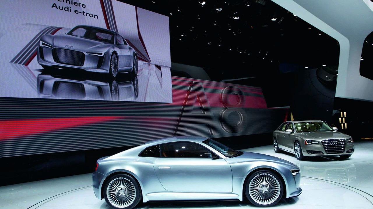 Audi e-tron Detroit Showcar live 11.01.2010