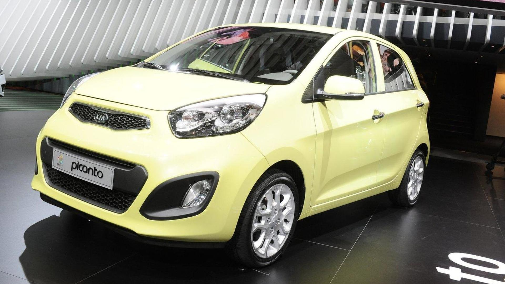 2013 Kia Picanto LPG to be revealed at Frankfurt Motor Show