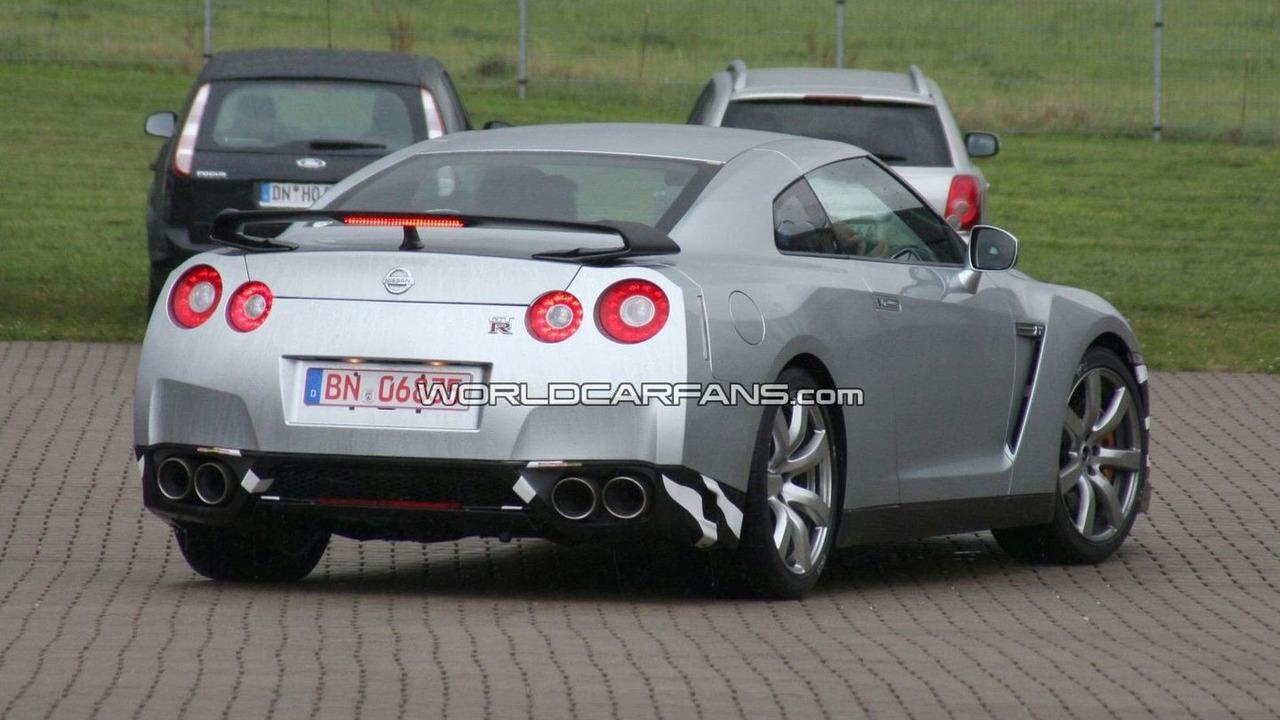 Nissan GT-R SpecM First Spy Photos