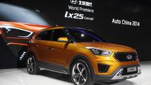 Hyundai ix25 concept revealed in Beijing