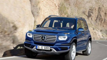 Mercedes-Benz G-Class rendered as a more civilized crossover