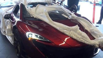 Red McLaren P1 delivered in San Francisco looks delicious [video]