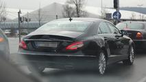 2015 Mercedes-Benz CLS facelift spy photo