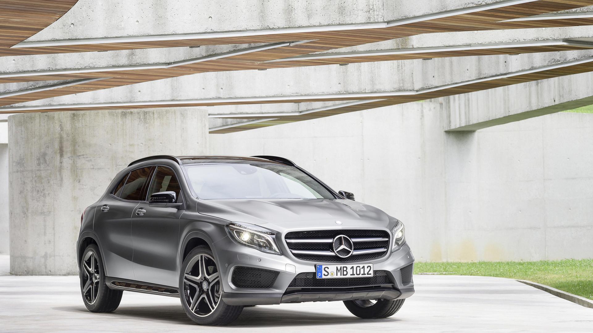 2016 Mercedes GLA gains new equipment in the U.S.