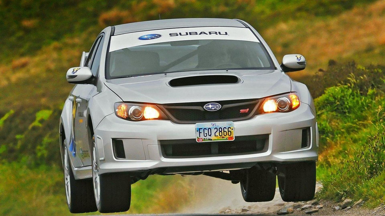 Subaru WRX STI breaks Isle of Man lap record 10.06.2011